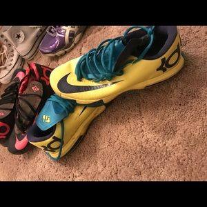 Kevin's Durant basketball shoes